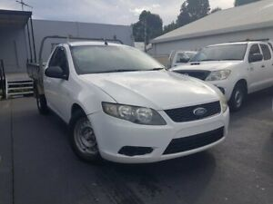 2010 Ford Falcon FG Upgrade White 6 Speed Auto Seq Sportshift Cab Chassis Canley Vale Fairfield Area Preview