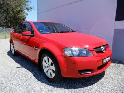 2006 Holden Commodore VE Omega Red 4 Speed Automatic Sedan Glendale Lake Macquarie Area Preview
