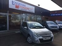 2009 59 RENAULT CLIO 1.1 EXPRESSION 16V 5d 74 BHP FREE 12 MONTHS MOT **** GUARANTEED FINANCE ****
