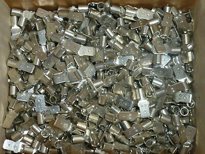 Nos Lot Of 500 Ideal 12-10 Non-insulated Male Push Tab Crimp Terminals 84-989