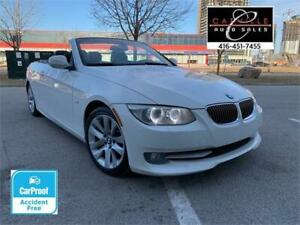 2011 BMW 328i CONVERTIBLE NAVI SPT PKG NO ACCIDENT WARRANTY