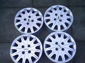 ford 15 inc 4 stud alloy wheels