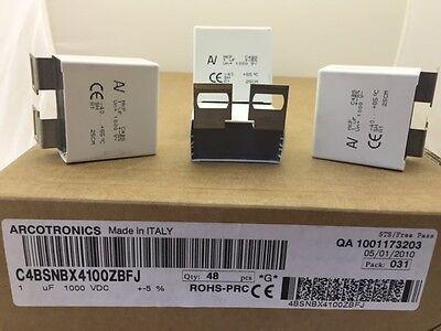 C4bsnbx4100zbfj Arcotronics 1uf 1000vdc Snubber Film Capacitor Polypropylene