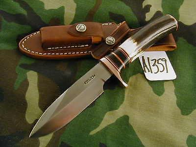 RANDALL KNIFE KNIVES C.C. COPPER TRIM,w/#27SH,NEW 2015 VARIATIONS,STAG #A1359