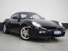 2009 Porsche Cayman 987 MY09 Black 6 Speed Manual Coupe Bentley Canning Area Preview