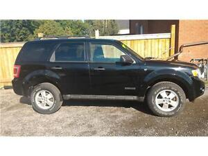 2008 Ford Escape XLT-AWD-Power Seats-Heated Seats-Certified.