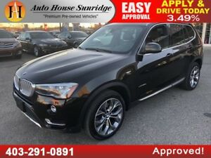 2015 BMW X3 28D DIESEL ALL WHEEL DRIVE NAVIGATION BACKUP CAMERA