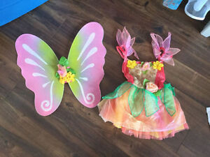 Costume princess flé clochette Tinkerbell DISNEY