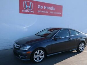 2013 Mercedes-Benz C-Class C350, AWD, COUPE, LEATHER