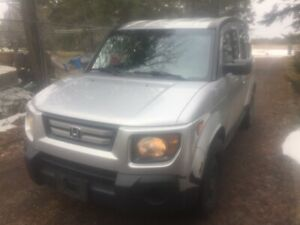 2007 Honda Element - $4000 firm, As Is