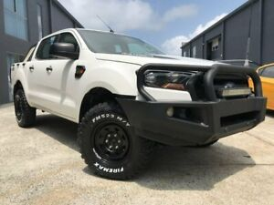 2016 Ford Ranger PX MkII XL Double Cab White 6 Speed Sports Automatic Utility Arundel Gold Coast City Preview
