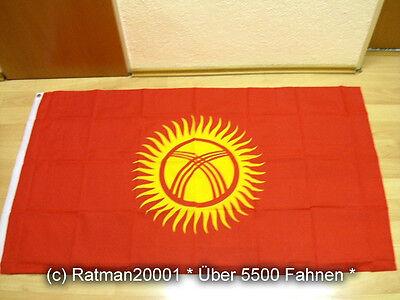 Fahnen Flagge Kirgistan - 90 x 150 cm