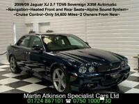 2009 09 Jaguar XJ 2.7 TDVi V6 Sovereign Automatic X358 Facelift