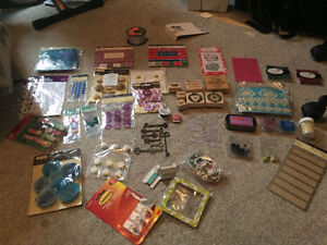 Scrapbooking/card making supplies
