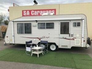 COROMAL LIFESTYLE 605 CARAVAN Klemzig Port Adelaide Area Preview