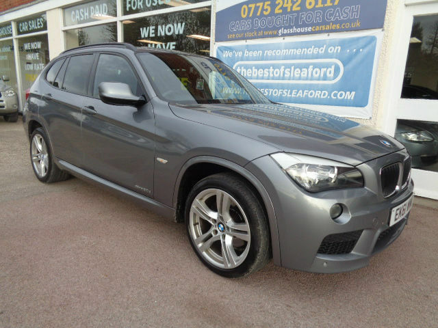 BMW X1 2.0TD auto sDrive20d M Sport Full S/H 4x4 £5830 added extras Low Miles