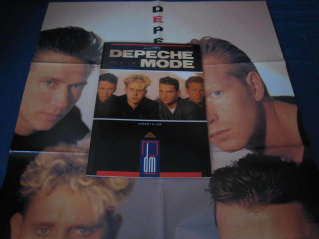 Depeche Mode Dream in Year 2000 Japan Book w Poster Erasure Synth New Romantic