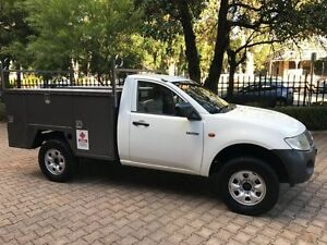 2007 Mitsubishi Triton ML MY08 GL 5 Speed Manual Cab Chassis Kent Town Norwood Area Preview