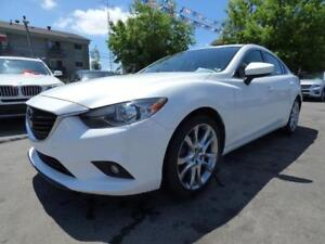 "2015 MAZDA6 GT (AUTOMATIQUE, TOIT, CUIR, NAVI, BT, MAGS 19""!!!)"