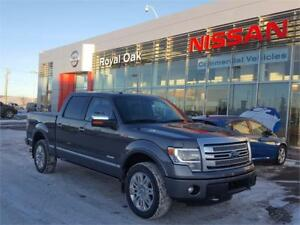 2014 Ford F-150 Platinum **Leather and Navigation**