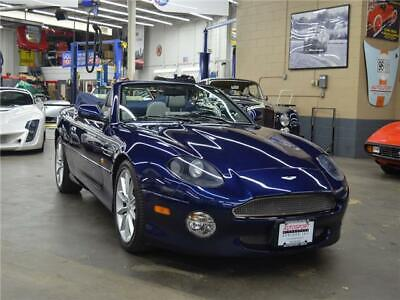 2001 Aston Martin DB7 Volante 2001 Aston Martin DB7 Vantage Volante Blue Convertible,Only 14k Mi,Serviced!!!