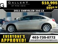 2011 Chrysler 200 LX $99 bi-weekly APPLY NOW DRIVE NOW