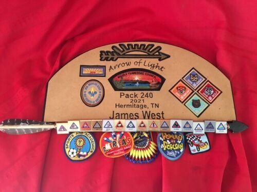 AOL Plaque, Arrow of Light, Cub Scout, Scouts, Customized