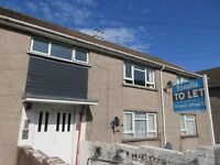 Two bed ground floor flat available immediately in Maerdy. NO BOND OR DEPOSIT REQUIRED