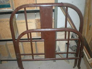 Steel Head And Footboard For Single Bed