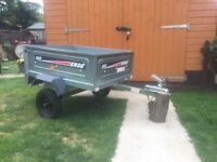 Brand New Tipping Trailer Heavy Duty Rear End Opens-Great For Camping Etc Was Over £350 Now £175