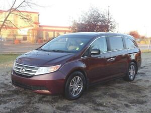 2013 Honda Odyssey EXL RES Rear DVD,  Leather,  Heated Seats,  3