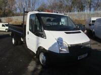 Ford Transit T350 MWB Tipper Tdci 100Ps [Drw] Euro 5 DIESEL MANUAL WHITE (2013)