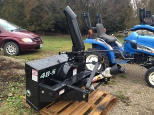 Smyth Compact Tractor Snowblowers