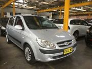 2008 Hyundai Getz TB MY09 S Silver 5 SP MANUAL Hatchback Georgetown Newcastle Area Preview