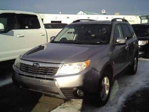 2010 SUBARU FORESTER, X Touring,PANORAMIC  **AWD**  $49 SEMAINE