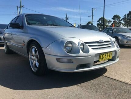 2000 Ford Falcon AU XR6 Silver 4 Speed Automatic Sedan