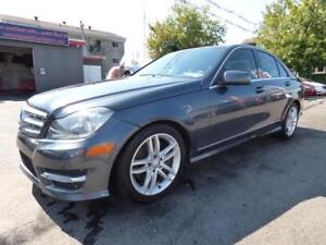 2013 MERCEDES-BENZ C300 4MATIC (CUIR, BLUETOOTH, MAGS, FULL!!!)