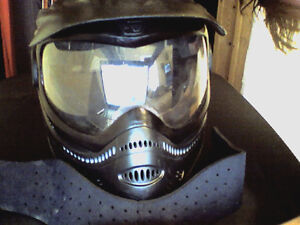 paint ball mask and neckguard good condition CHEAP!