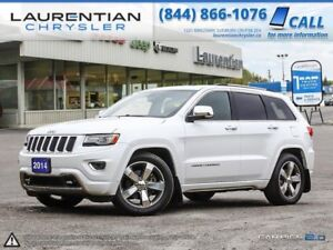 2014 Jeep Grand Cherokee ECO-DIESEL! 4X4! LEATHER! NAVIGATION! B