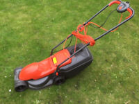 Electric lawnmower and hedge cutter for sale. Both mains corded and in very good condition.