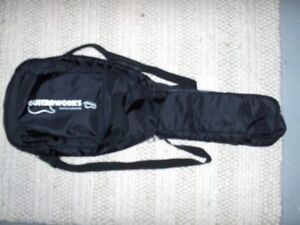 Padded Gig Bag for Electric 6 String and Stand