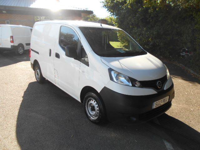Nissan Nv200 1.5 DCI 89BHP SE Van DIESEL MANUAL WHITE (2013)