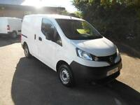 Nissan Nv200 1.5 DCI 89BHP SE Van DIESEL MANUAL WHITE (2013)