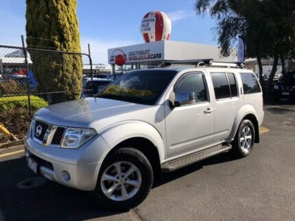 2009 Nissan Pathfinder R51 MY08 ST-L Silver 5 Speed Sports Automatic Wagon Seaford Frankston Area Preview