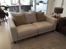 """Plush """"Zara"""" 3 Seater Sofa with Scatterback Cushions Somerton Park Holdfast Bay Preview"""