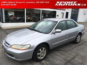 2000 Honda Accord Sdn Special Edition! PWR Options! A/C! AS IS!