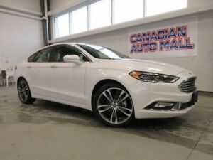 2018 Ford Fusion TITANIUM AWD, ROOF, LEATHER, LOADED, 21K!