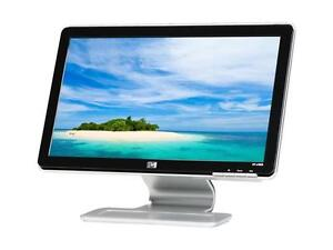 Monitor: HP w1858, 19 inches, widescreen, LCD
