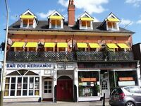 FULL TIME BAR AND WAIT PERSON REQUIRED WITH A CLARENDON PARK BAR