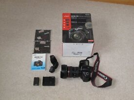 Canon 5D DSLR camera and 24-105mm zoom lens